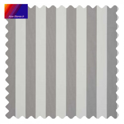 Toile gris et blanc : échantillon