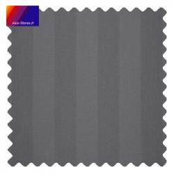 Échantillon de la toile Pencil gris foncé