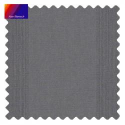 Détail de l'échantillon de la toile Pencil gris foncé
