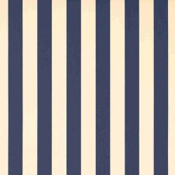 Store Lacanau 480 x 210 Bleu marine et écru : détail de la toile