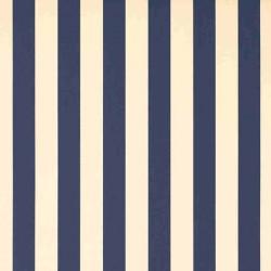 Store Lacanau 480 x 260 Bleu marine et écru :détail de la toile