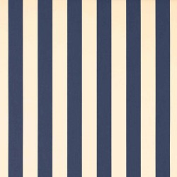 Store Lacanau 360 x 210 Bleu marine et écru : détail de la toile