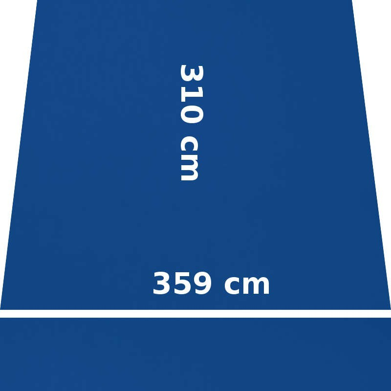Store Lacanau 360 x 310 Bleu Océan : descriptif