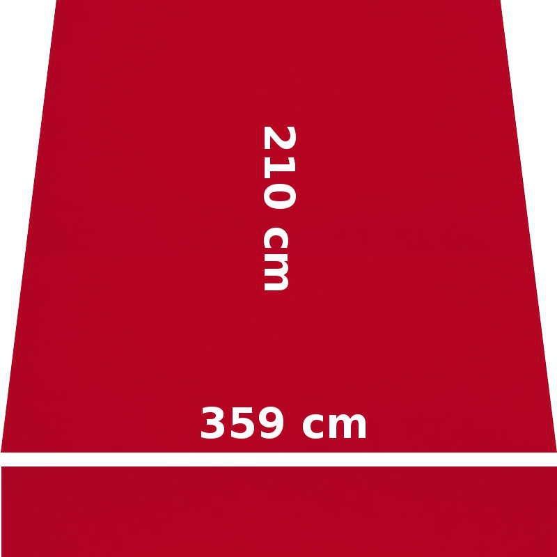 Store Lacanau 360 x 210 Rouge Cerise : descriptif