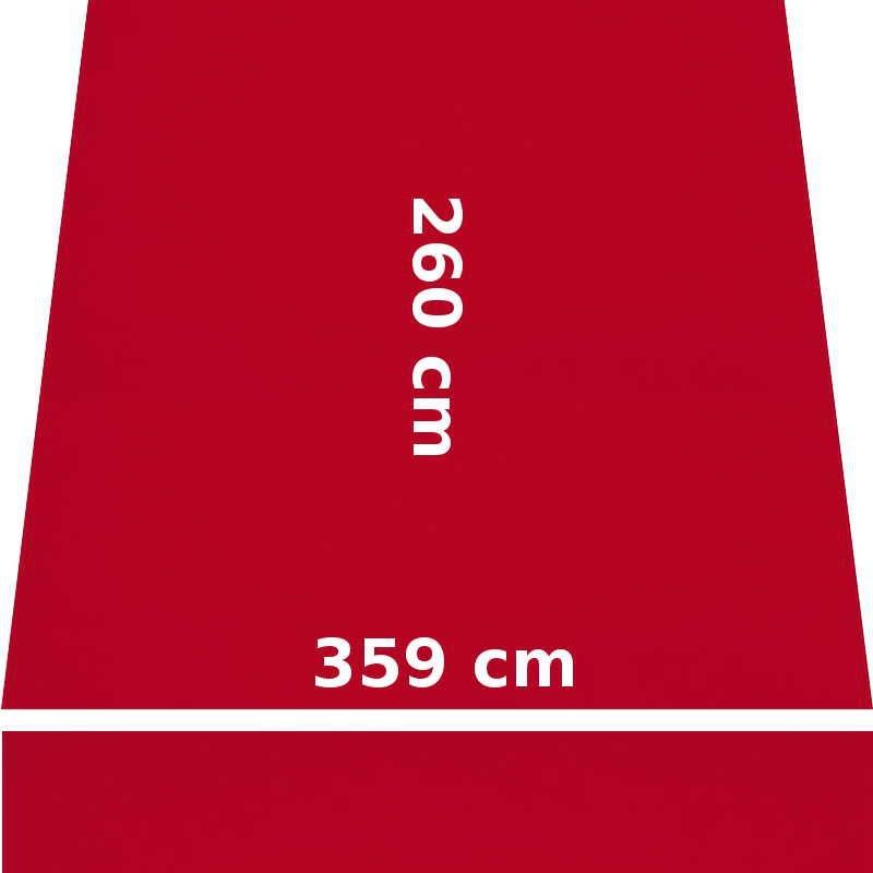 Store Lacanau 360 x 260 Rouge Cerise : descriptif