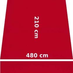 Store Lacanau 480 x 210 Rouge Cerise : descriptif