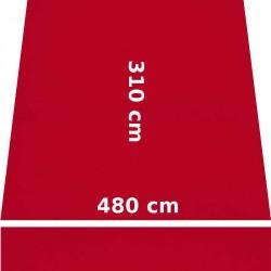 Store Lacanau 480 x 310 Rouge Cerise : descriptif