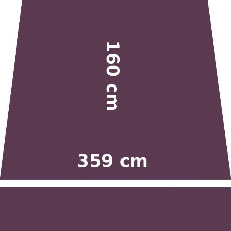 Store Lacanau 360 x 160 Violet Cassis : descriptif
