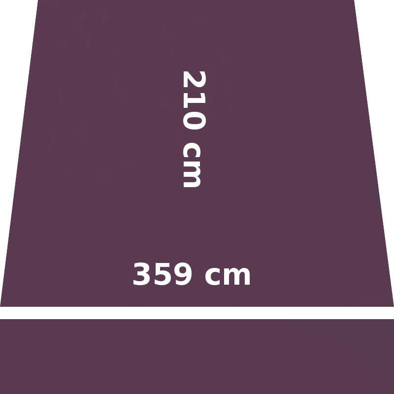 Store Lacanau 360 x 210 Violet Cassis : descriptif : descriptif