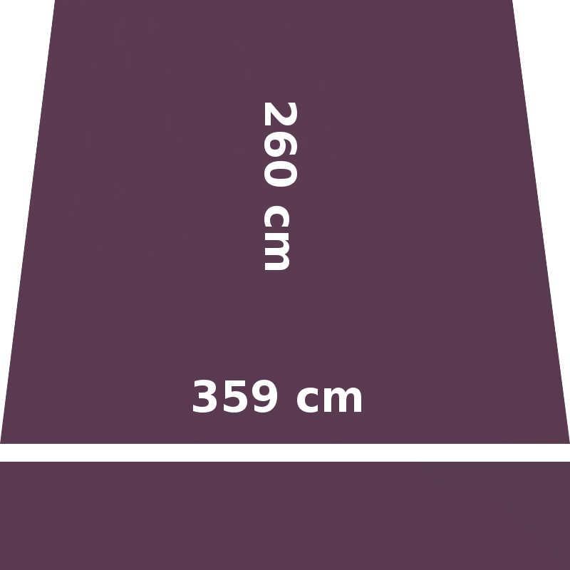 Store Lacanau 360 x 260 Violet Cassis : descriptif