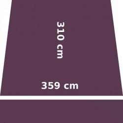 Store Lacanau 360 x 310 Violet Cassis : descriptif