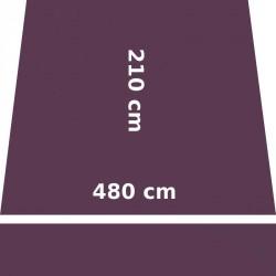 Store Lacanau 480 x 210 Violet Cassis : descriptif