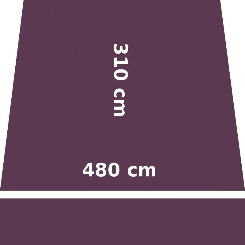 Store Lacanau 480 x 310 Violet Cassis : descriptif