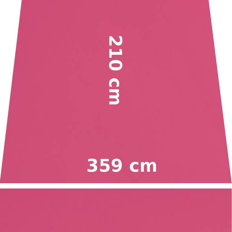 Store Lacanau 360 x 210 Rose Pink : descriptif