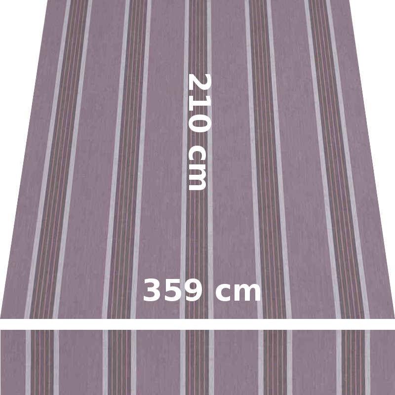 Store Lacanau 360 x 210 Amethyste : descriptif