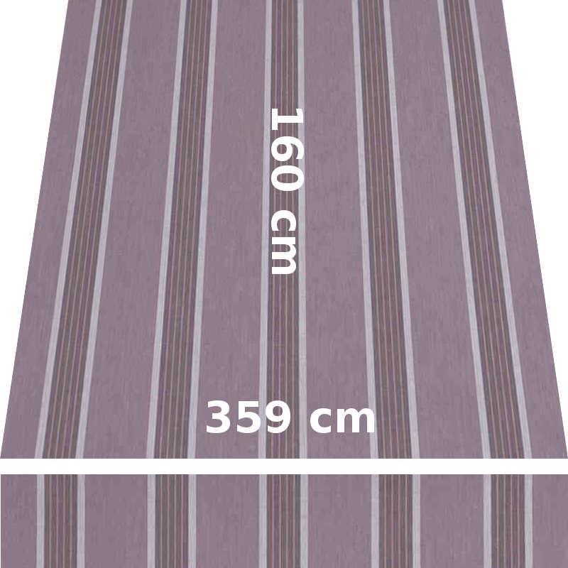 Store Lacanau 360 x 160 Amethyste : descriptif