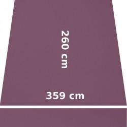 Store Lacanau 360 x 260 Violet Mauve