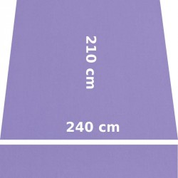 Store Lacanau 242 x 210 Violet Lilas : descriptif