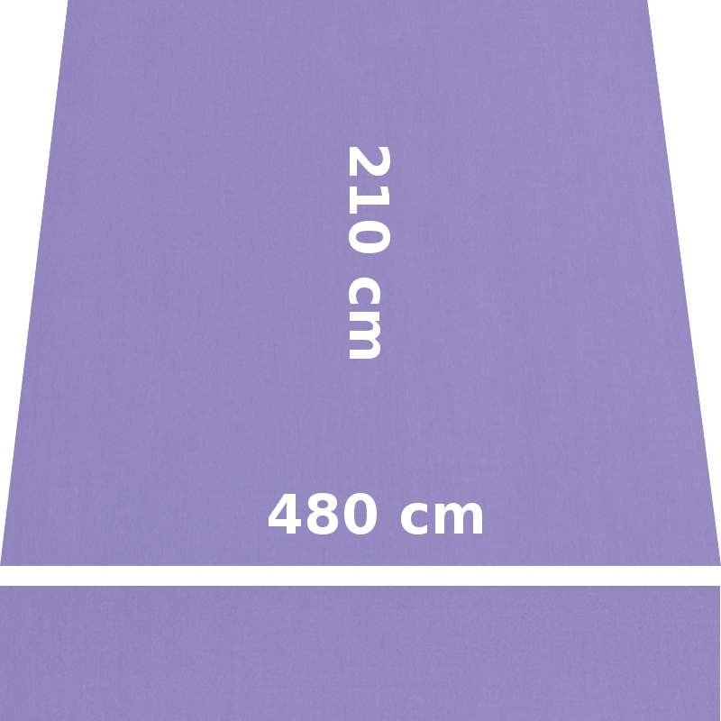 Store Lacanau 480 x 210 Violet Lilas : descriptif