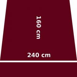 Store Lacanau 242 x 160 Rouge Bordeaux : descriptif