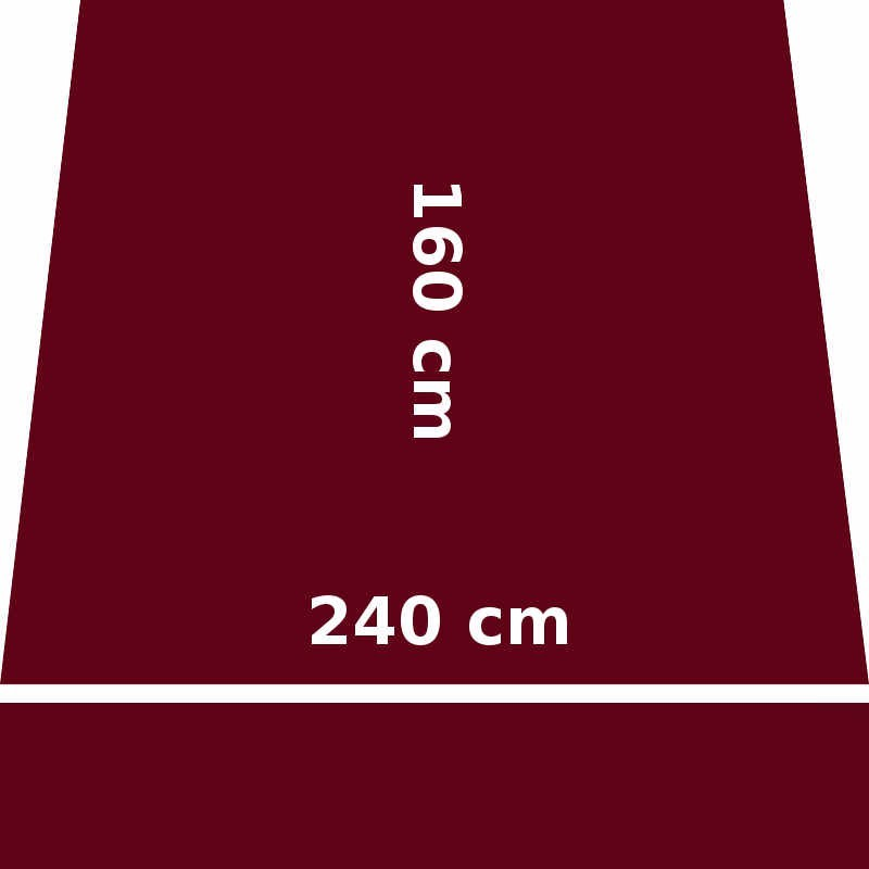 Store Lacanau 242 x 160 Rouge Bordeaux : descriptif