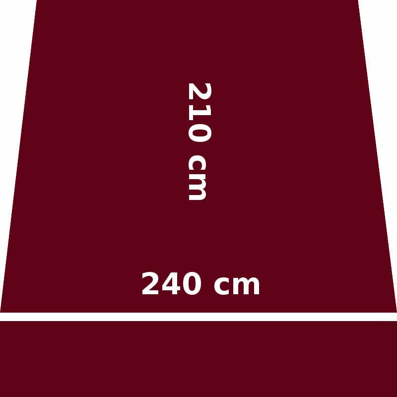 Store Lacanau 242 x 210 Rouge Bordeaux : descriptif