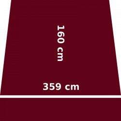 Store Lacanau 360 x 160 Rouge Bordeaux : descriptif