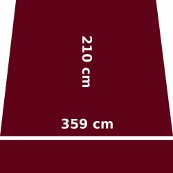 Store Lacanau 360 x 210 Rouge Bordeaux : descriptif