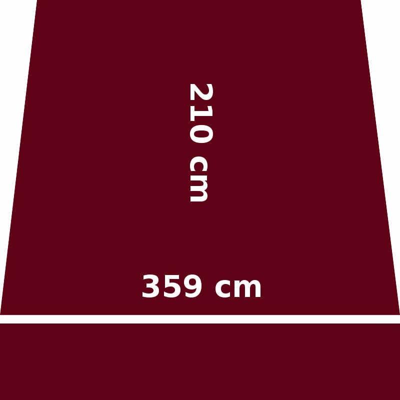 Store Lacanau 360 x 210 Rouge Bordeaux : descriptif