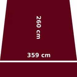 Store Lacanau 360 x 260 Rouge Bordeaux : descriptif