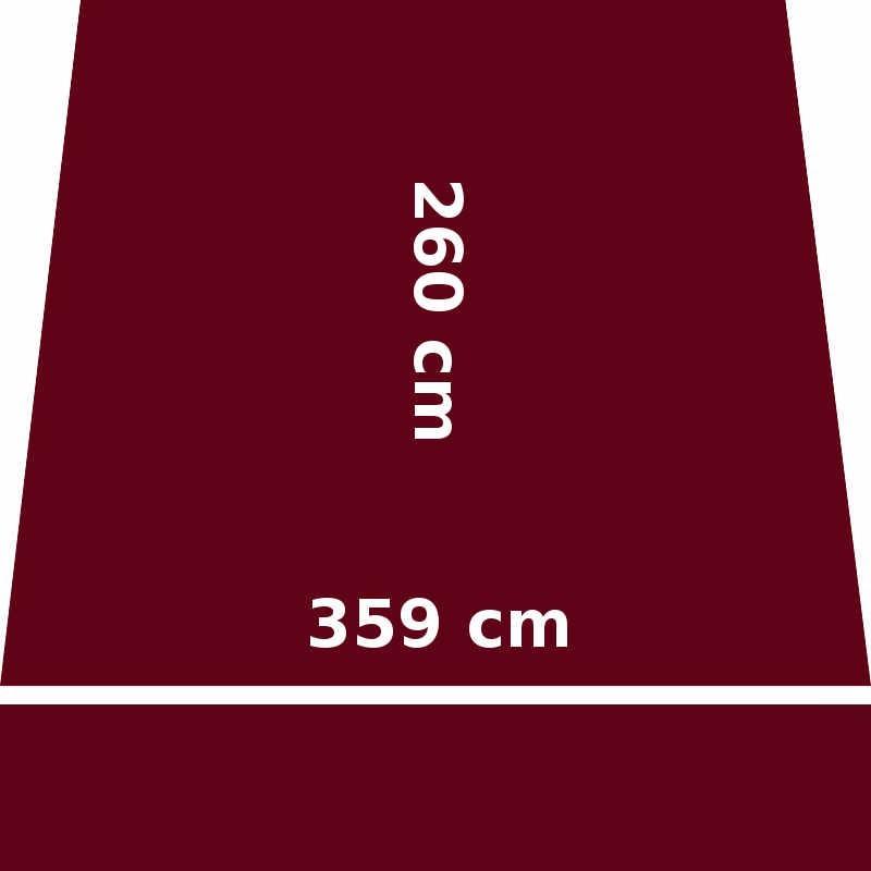Store Lacanau 360 x 260 Rouge Bordeaux : descriptif