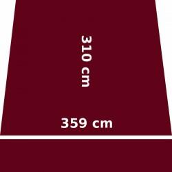 Store Lacanau 360 x 310 Rouge Bordeaux : descriptif