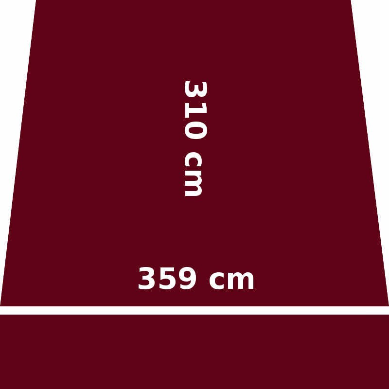 Store Lacanau 360 x 310 Rouge Bordeaux : descriptif