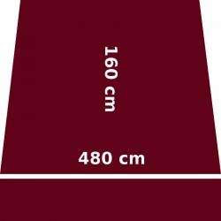Store Lacanau 480 x 160 Rouge Bordeaux : descriptif