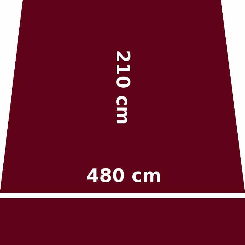 Store Lacanau 480 x 210 Rouge Bordeaux : descriptif