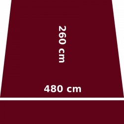 Store Lacanau 480 x 260 Rouge Bordeaux : descriptif
