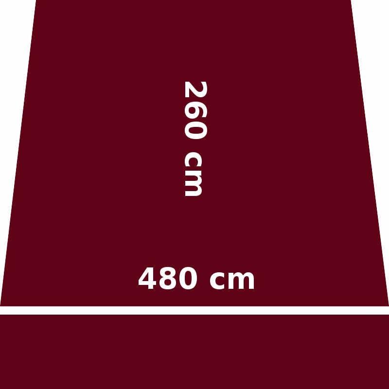 Store Lacanau 480 x 260 Rouge Bordeaux : descriptif