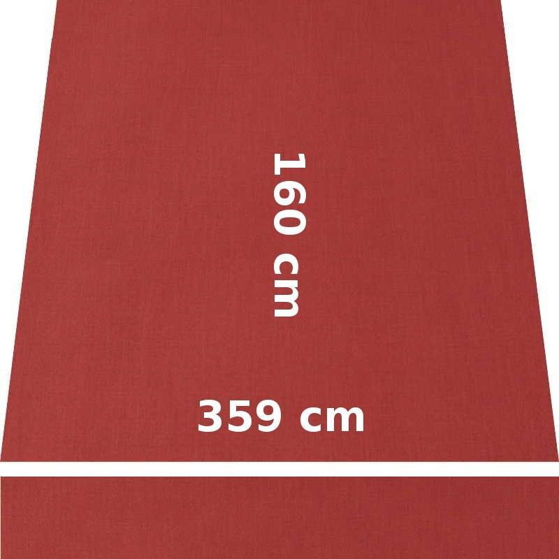 Store Lacanau 360 x 160 Terracotta : descriptif