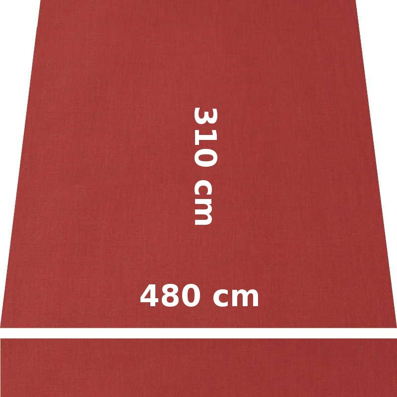 Store Lacanau 480 x 310 Terracotta : descriptif