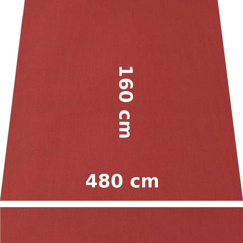 Store Lacanau 480 x 160 Terracotta : descriptif