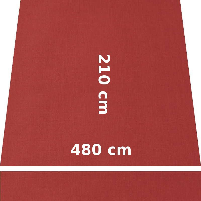 Store Lacanau 480 x 210 Terracotta : descriptif