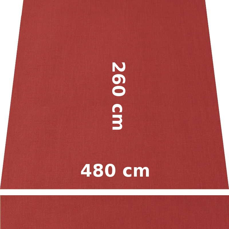 Store Lacanau 480 x 260 Terracotta : descriptif