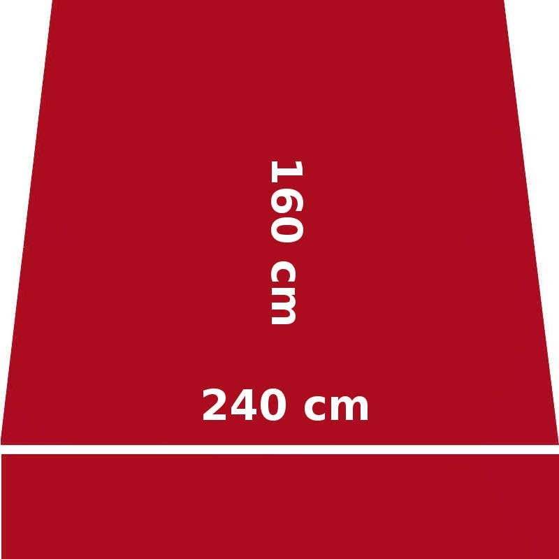 Store Lacanau 242 x 160 Rouge Rubis : descriptif