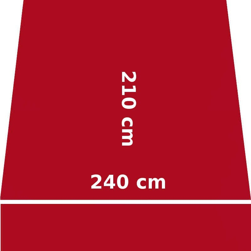 Store Lacanau 242 x 210 Rouge Rubis : descriptif