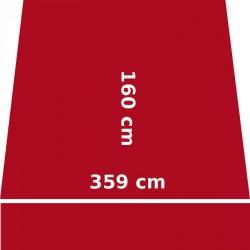 Store Lacanau 360 x 160 Rouge Rubis : descriptif