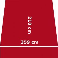 Store Lacanau 360 x 210 Rouge Rubis : descriptif