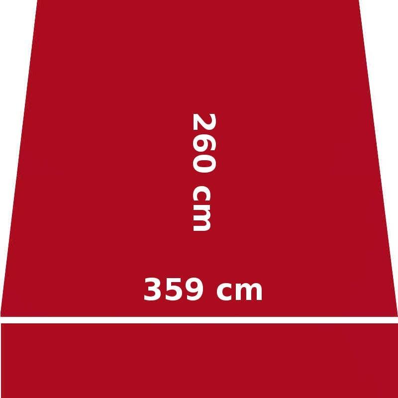 Store Lacanau 360 x 260 Rouge Rubis : descriptif