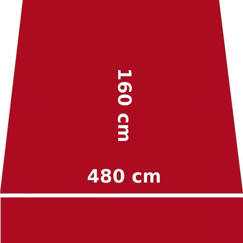 Store Lacanau 480 x 160 Rouge Rubis : descriptif