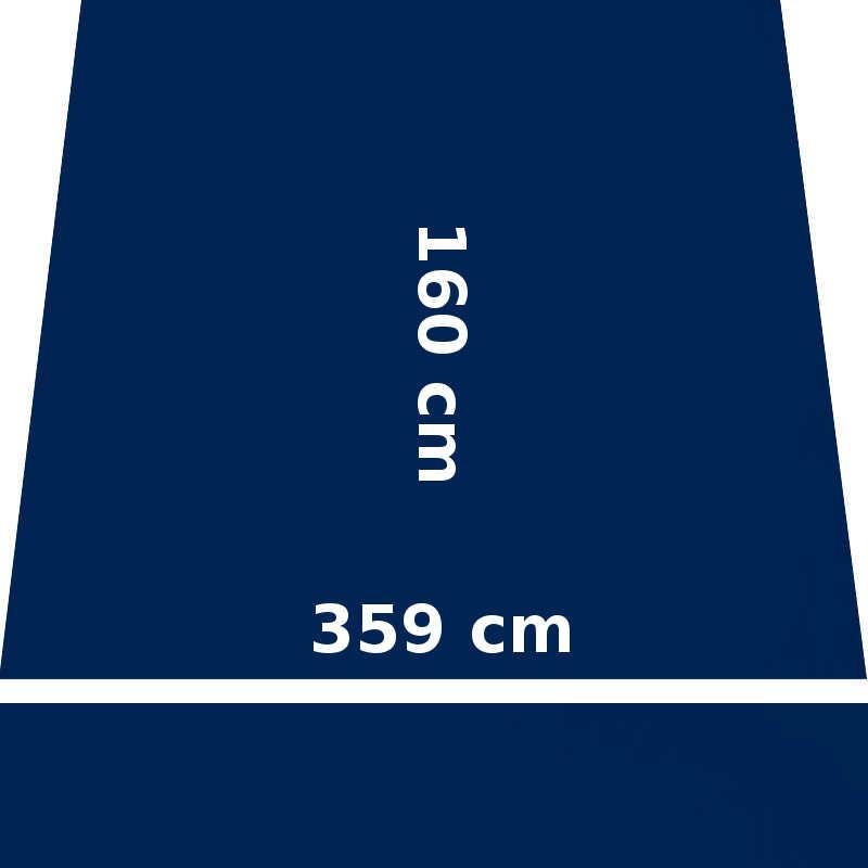 Store Lacanau Ocean 360 x 160 Bleu Marine : descriptif