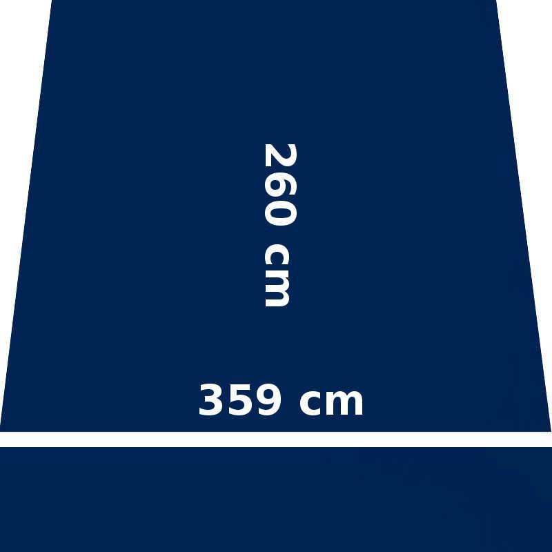 Store Lacanau Ocean 360 x 260 Bleu Marine : descriptif